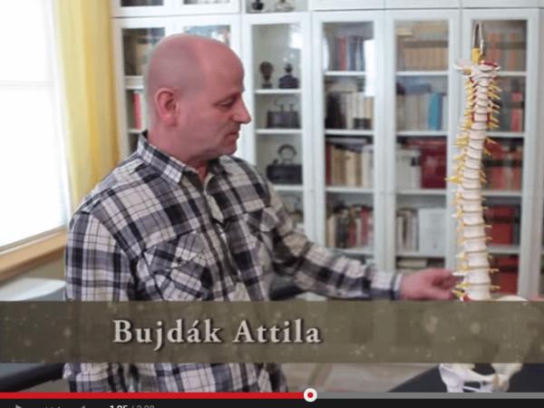 Gerincsérv videó
